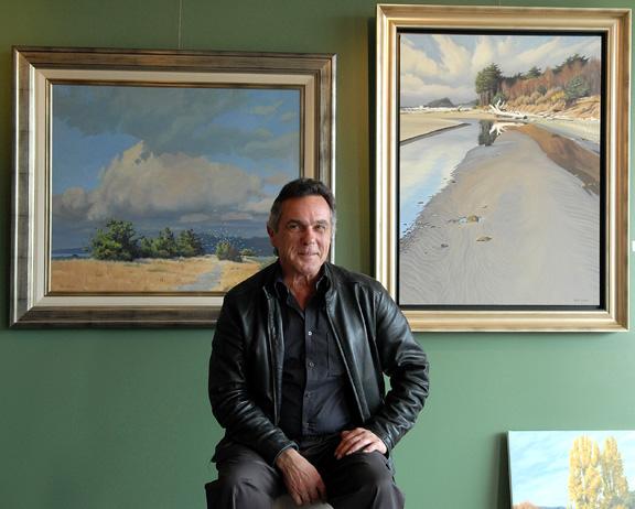 Artist Keith Hiscock VM 1