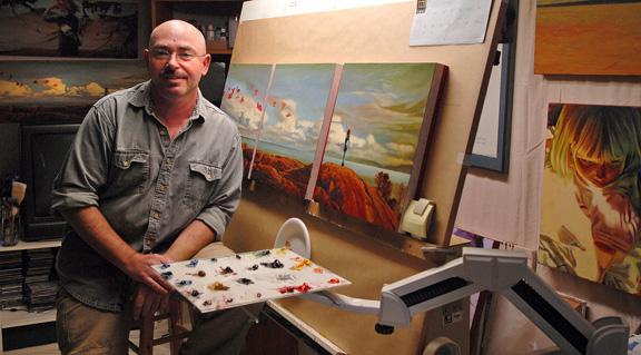 Artist Mark Heine VM 1