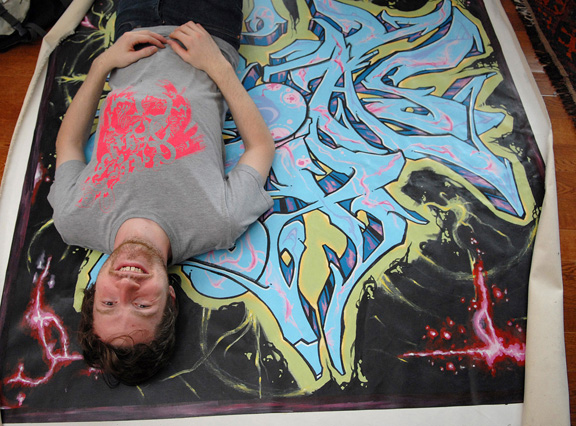 Graffiti Artist Ben Westergreen LW 1