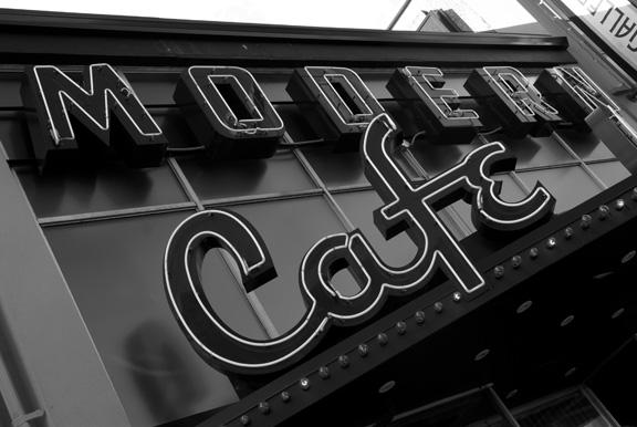 Modern Cafe Nanaimo