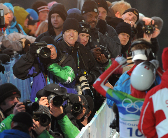 Fotogs at Skeleton race