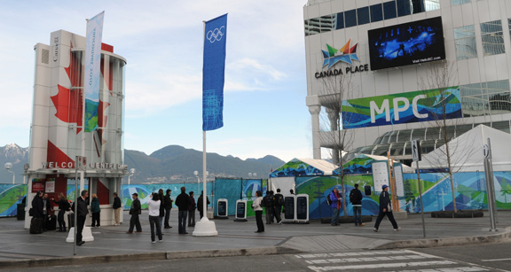 Vancouver Olympic Media Centre