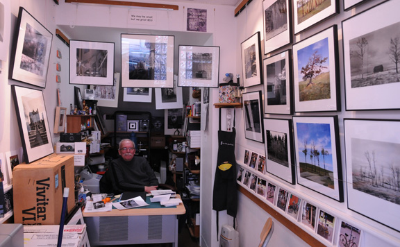 Wilf Schmidt and The Little Photo Shop – Photographers' Work Spaces and Studios