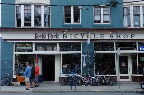 North Park Bicycle Shop Victoria, BC 2012