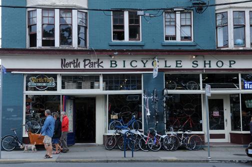 North Park Bicycle Shop Victoria, BC 2012