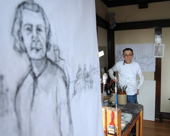 Artist Rachel Berman 1