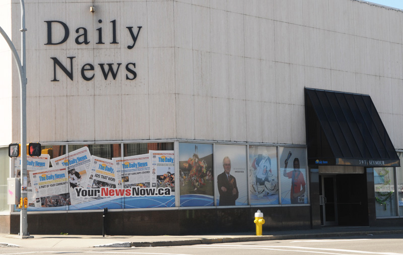 Kamloops Daily News 2014