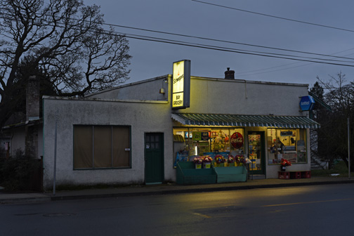 Bay Grocery, Bay Street, Victoria, BC 2015