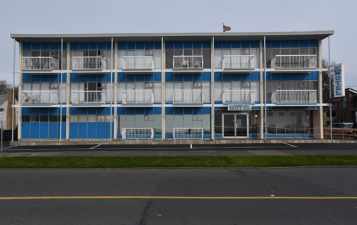 The Surf Motel and all 14 units.