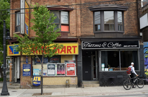 Queen Street W. #1  Toronto 2015