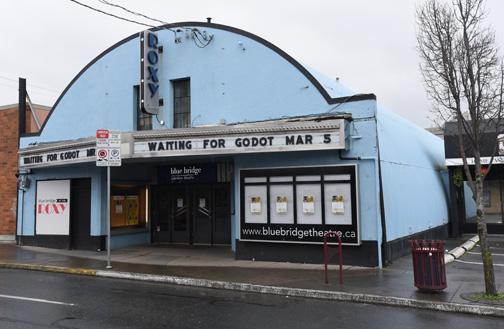 The Roxy Theatre, Waiting For Godot  Victoria, BC 2015