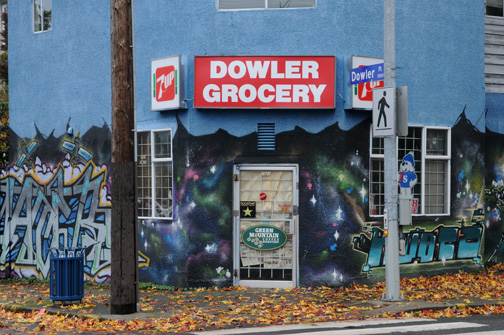 Dowler Grocery, Victoria, BC 2012
