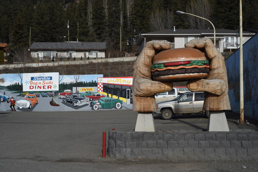 Dog N Suds Diner, Williams Lake, British Columbia 2016