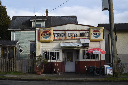 Vernon Drive Grocery, Vancouver, BC 2016