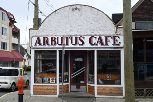 Arbutus Cafe, Duncan, British Columbia 2016