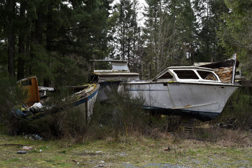 Boat Graveyard, Vancouver Island, British Columbia 2016