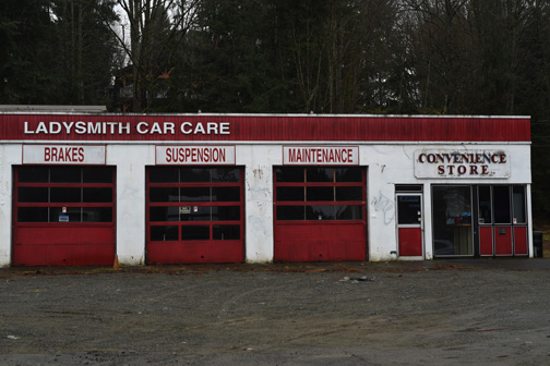 Ladysmith Car Care, Ladysmith, British Columbia 2017