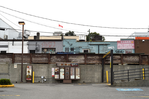 Drive Through View, 8th and Cambie, Vancouver British Columbia 2
