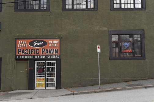 Pacific Pawn, New Westminster British Columbia 2018