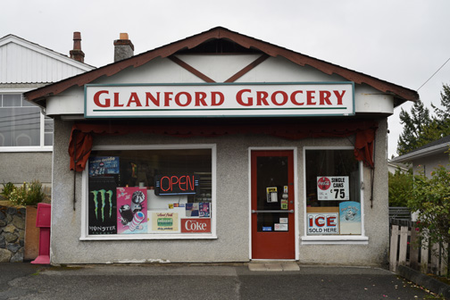 Glanford Grocery, Saanich, British Columbia 2018