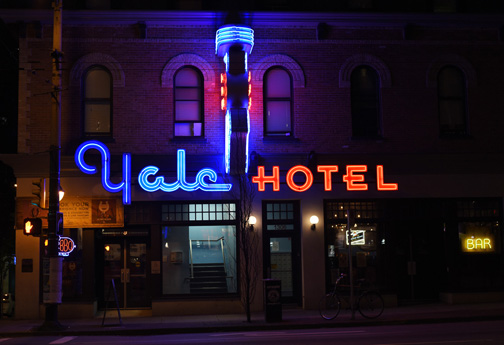 Yale Hotel Vancouver, British Columbia 2016