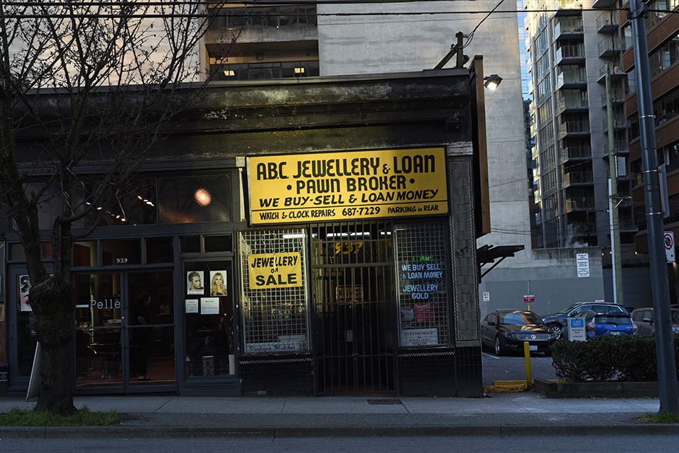ABC Jewellery and Loan, Vancouver, British Columbia 2019
